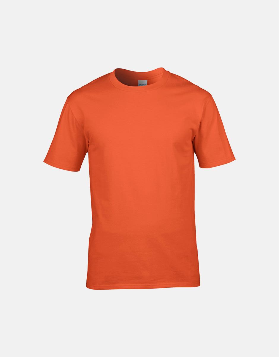t-shirt passion orange