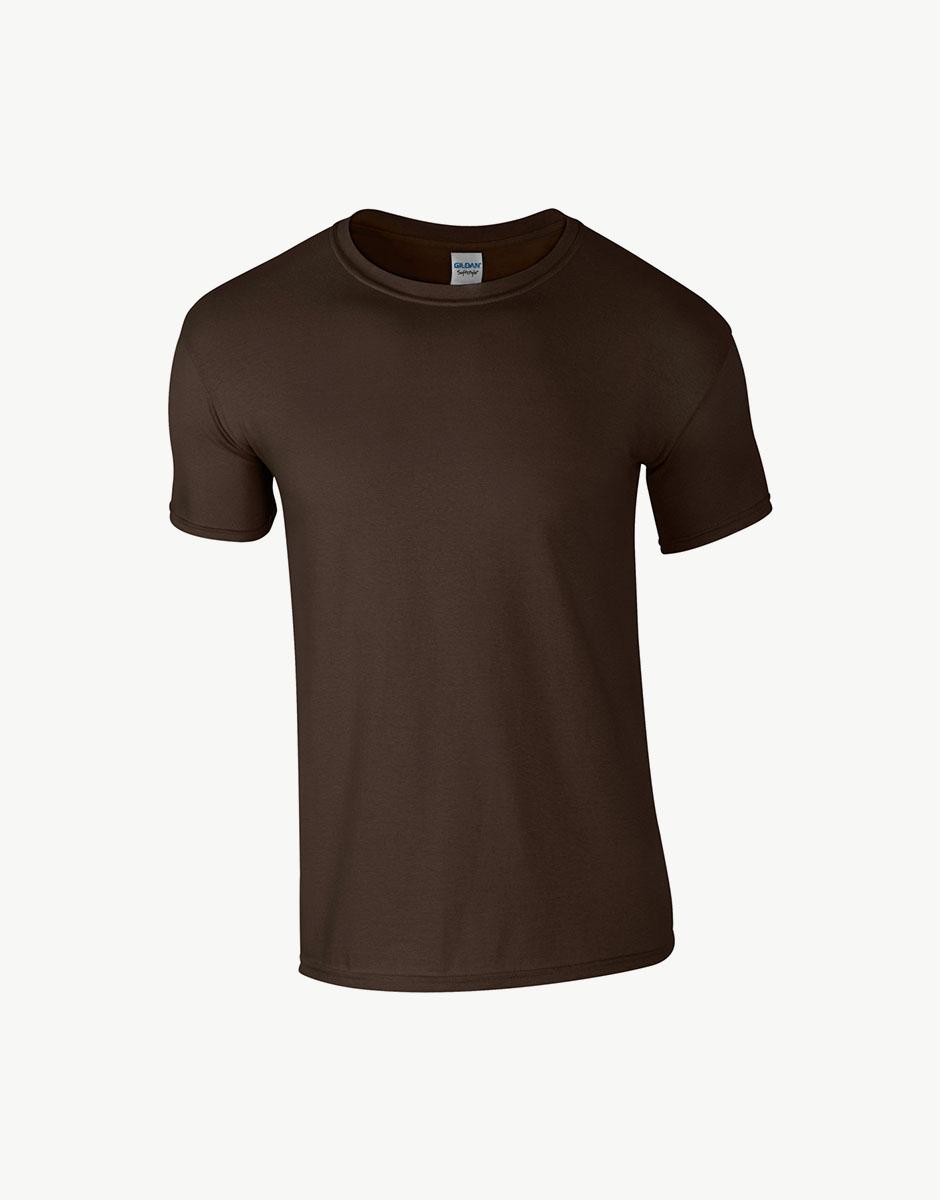t-shirt dark chocolate