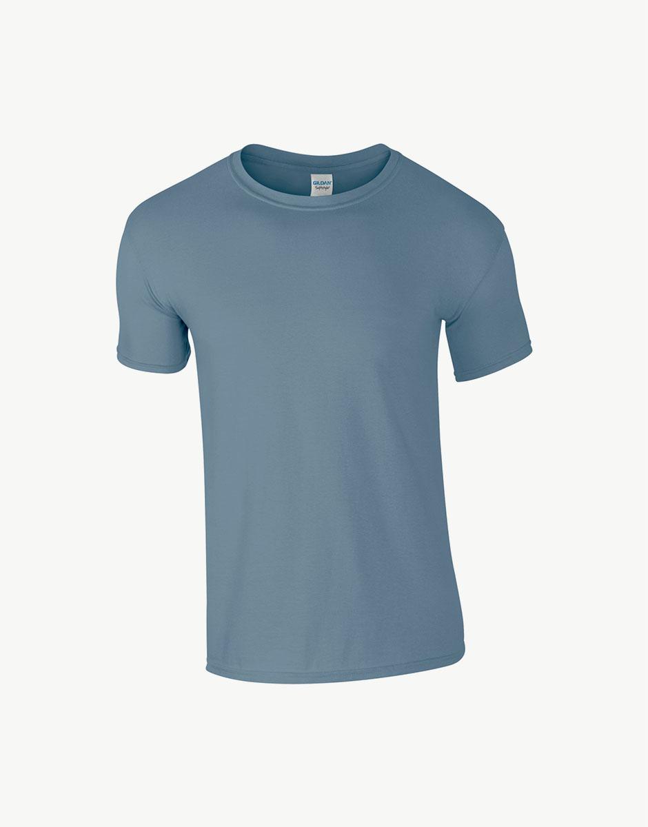 t-shirt heater indigo