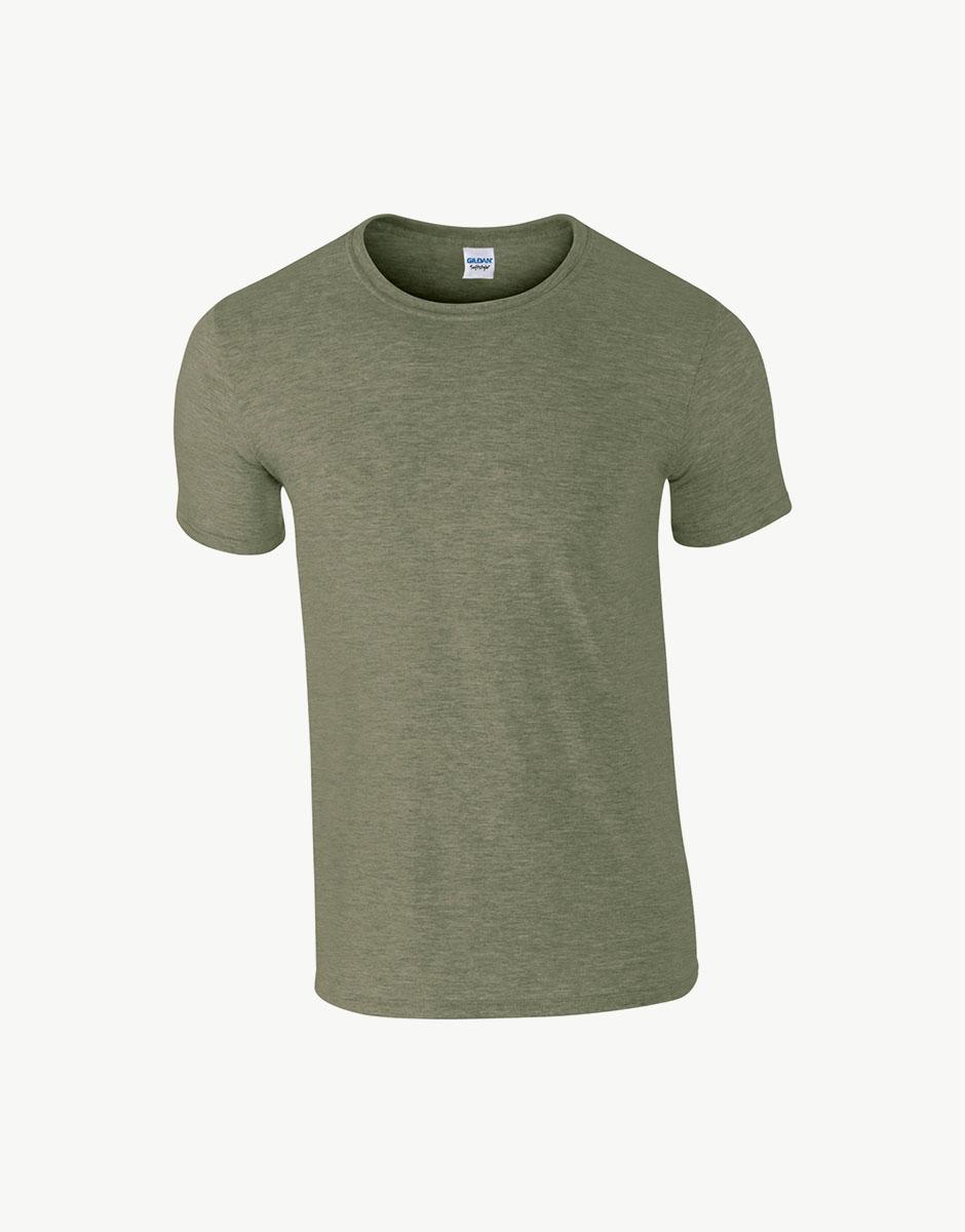 t-shirt heater military green