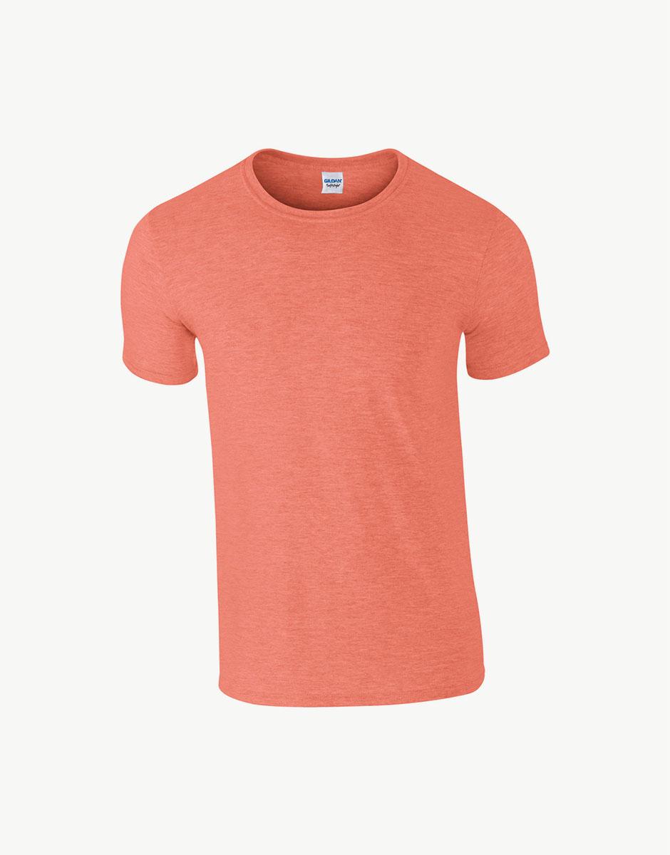 t-shirt heater orange
