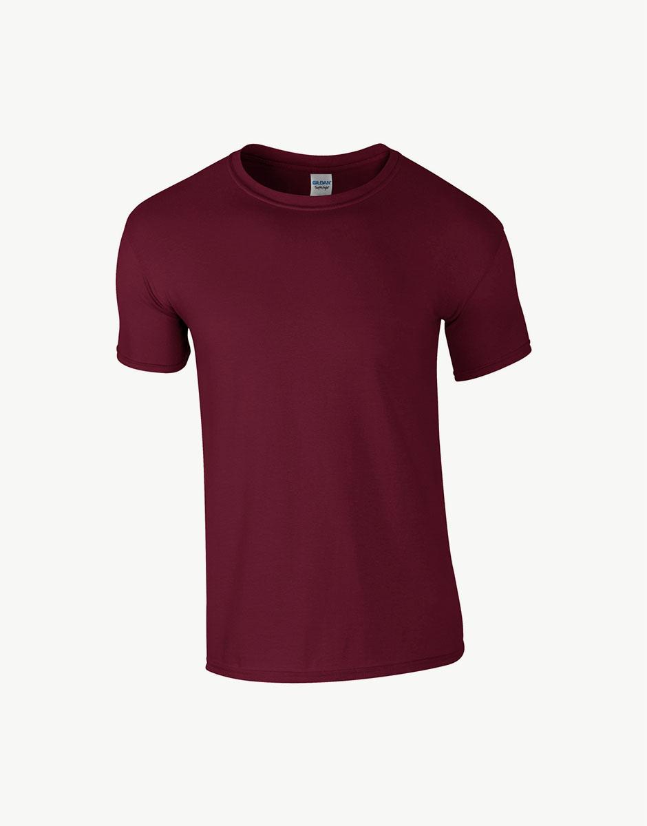 t-shirt maroon