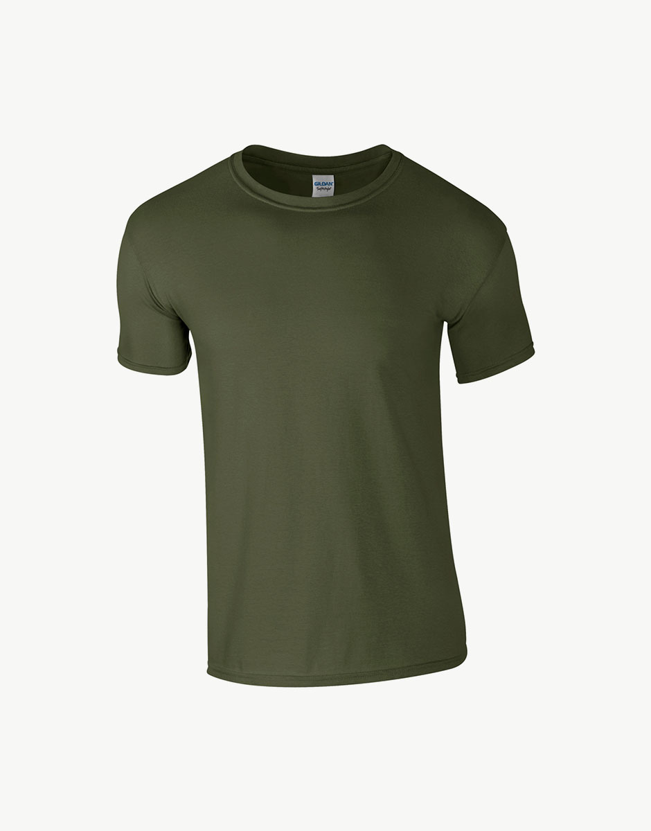 t-shirt event military green