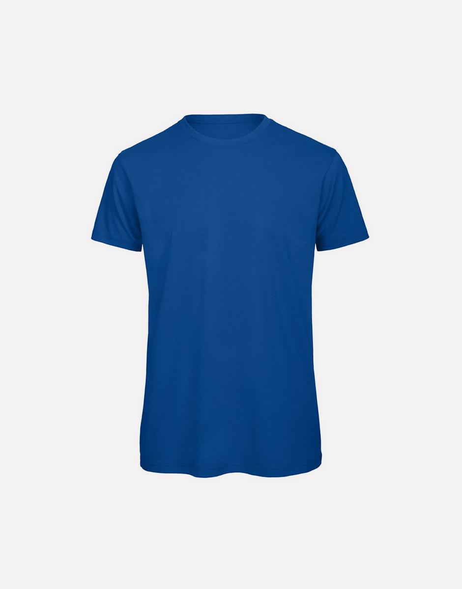 t-shirt earth royal blue