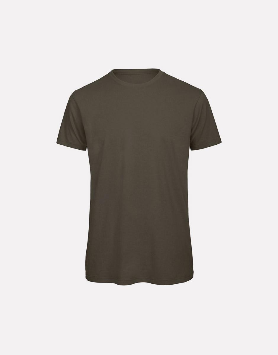t-shirt earth khaki