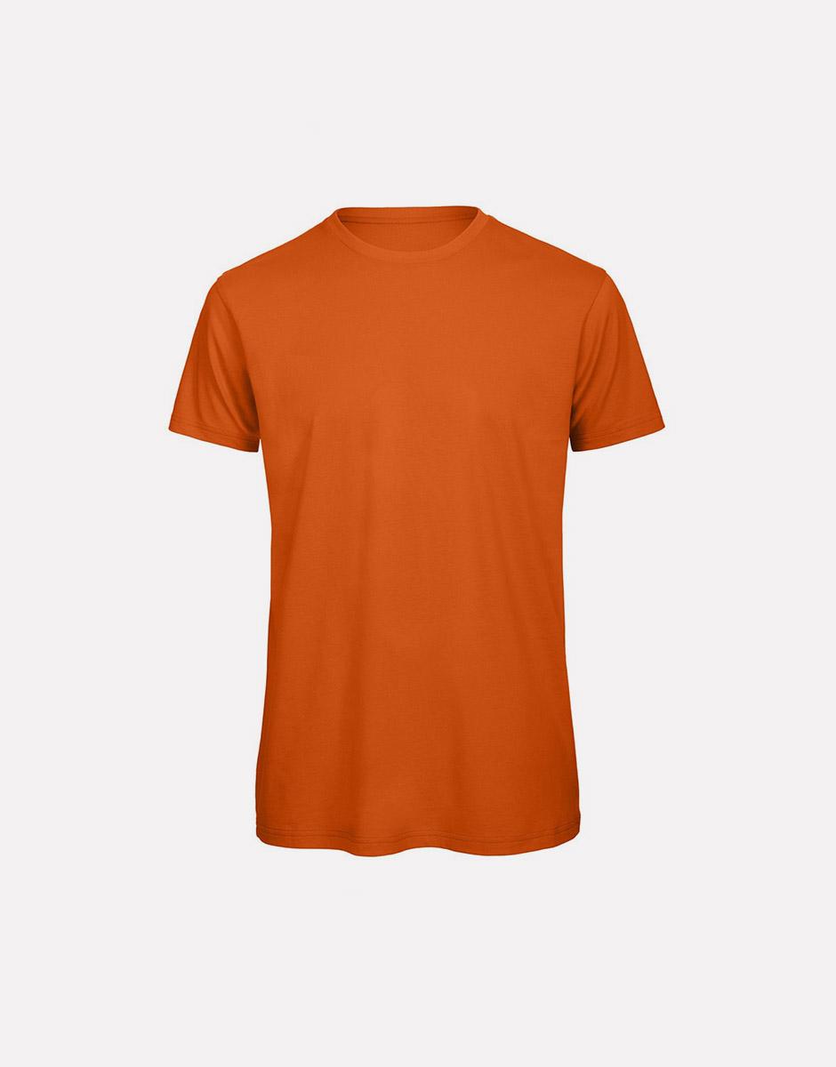 t-shirt earth urban orange