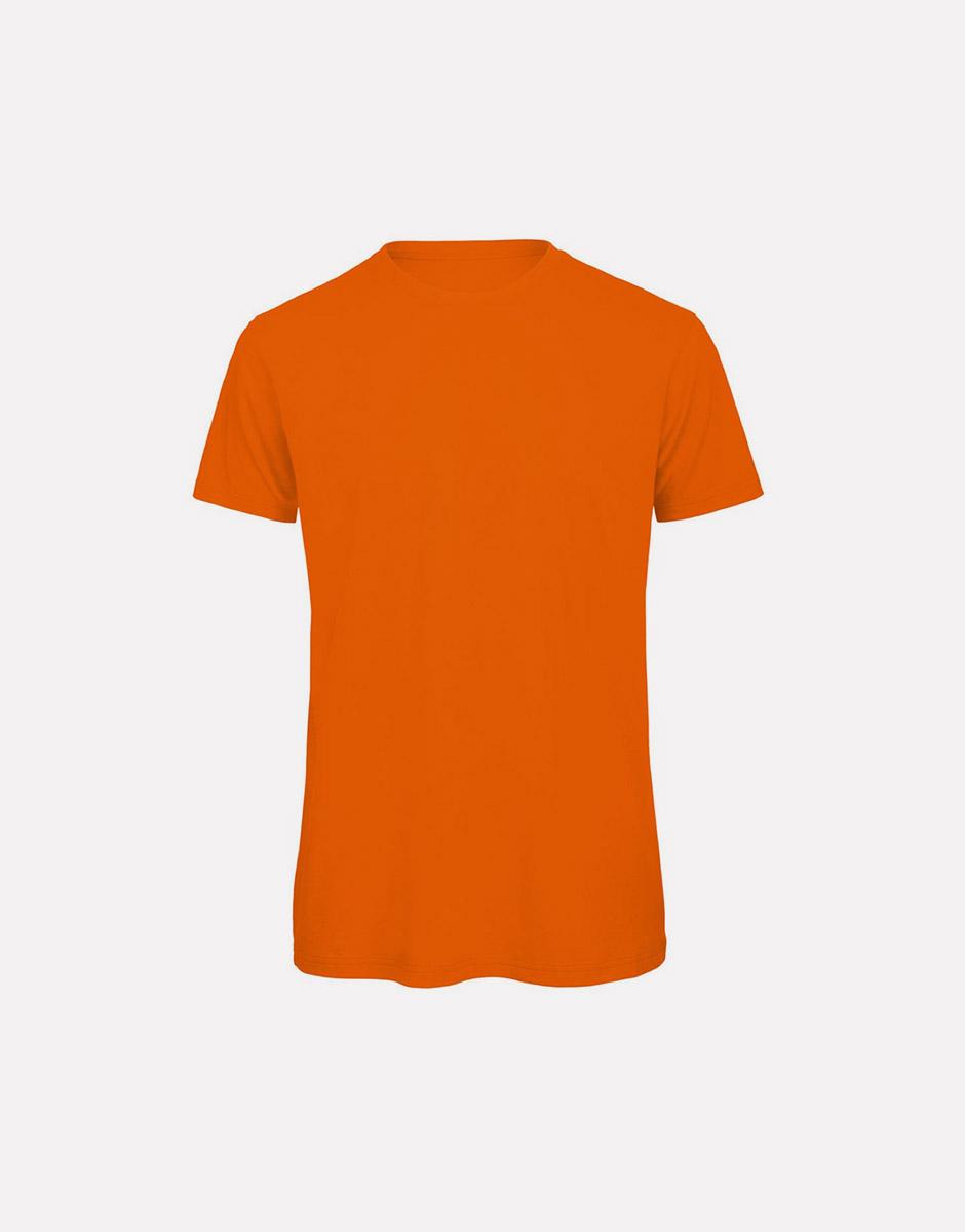 t-shirt earth orange