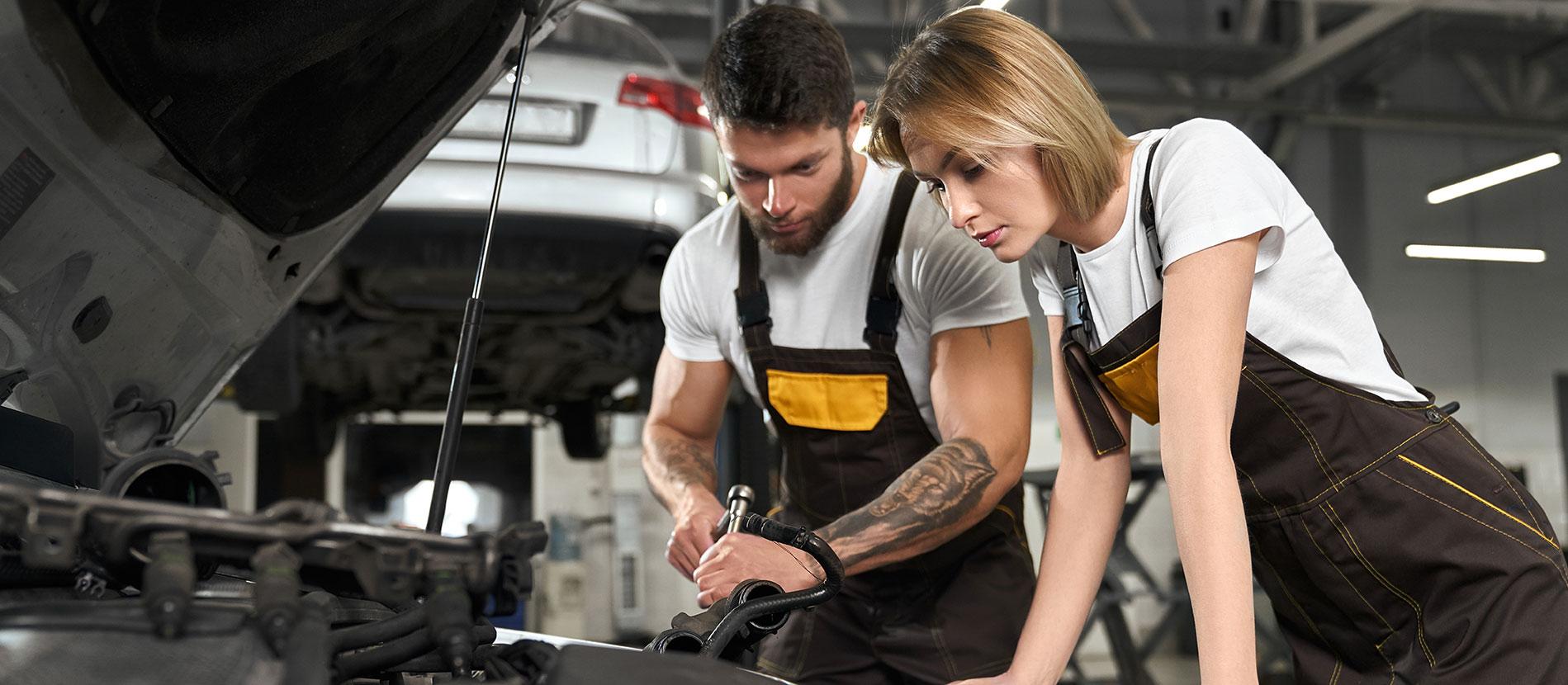 t-shirt per industria e manutenzione