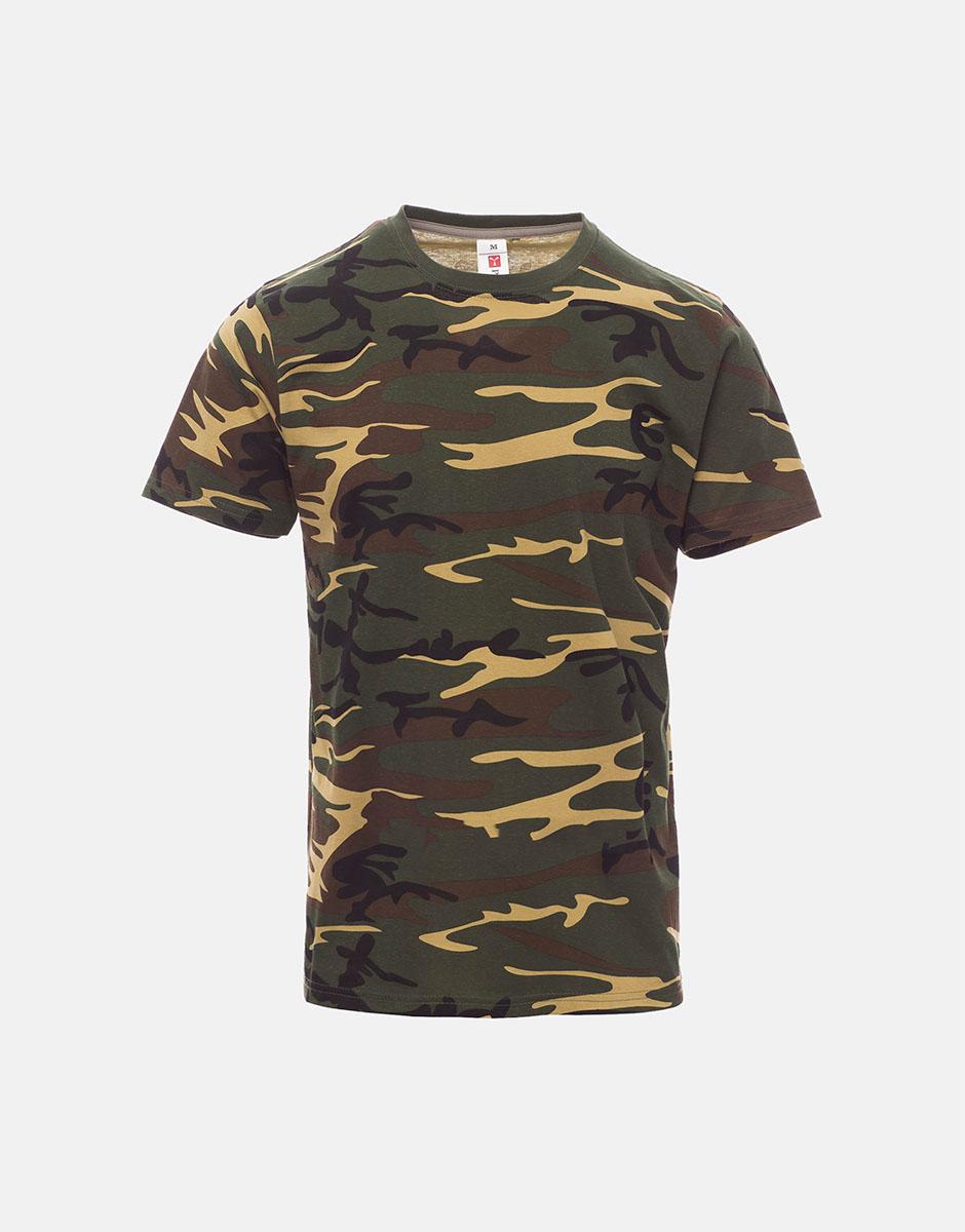 t-shirt always mimetico