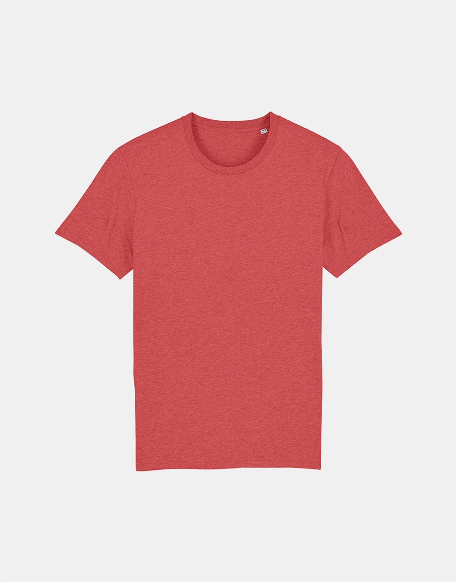 t-shirt mid heater red